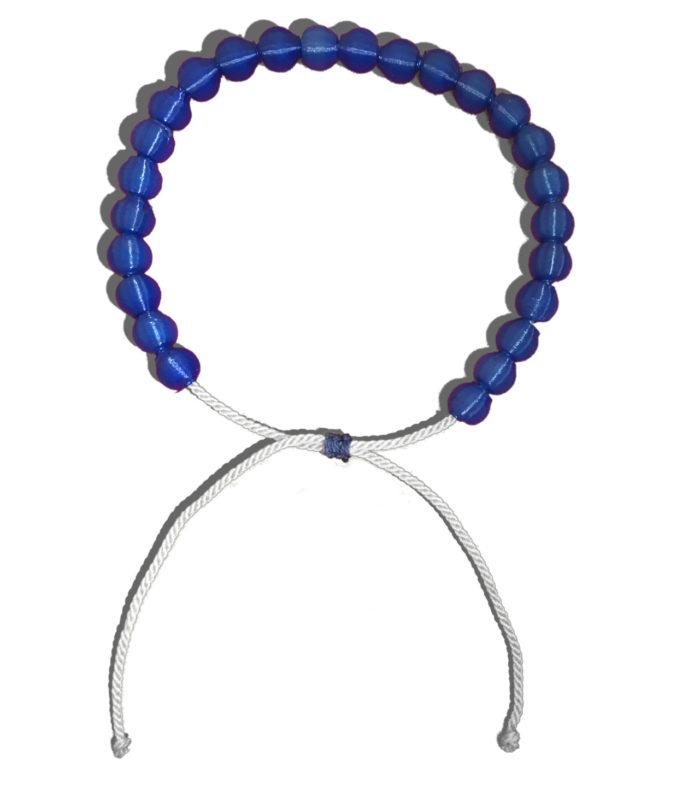 Sana Mare Armband Atlantik Blau/Weiß