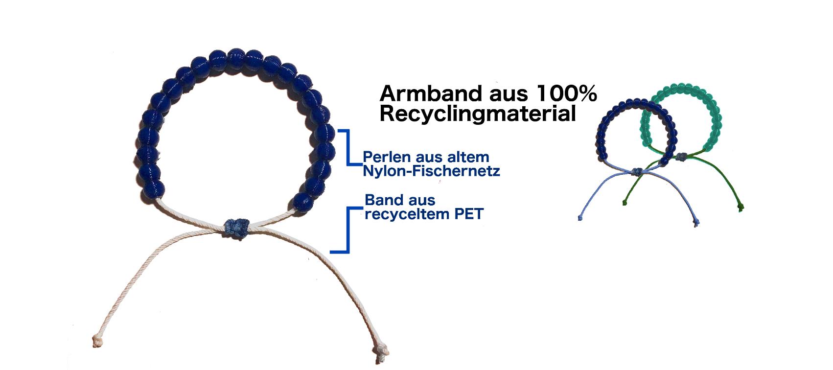 Sana Mare Armabdn aus recycelten Fischernetzen