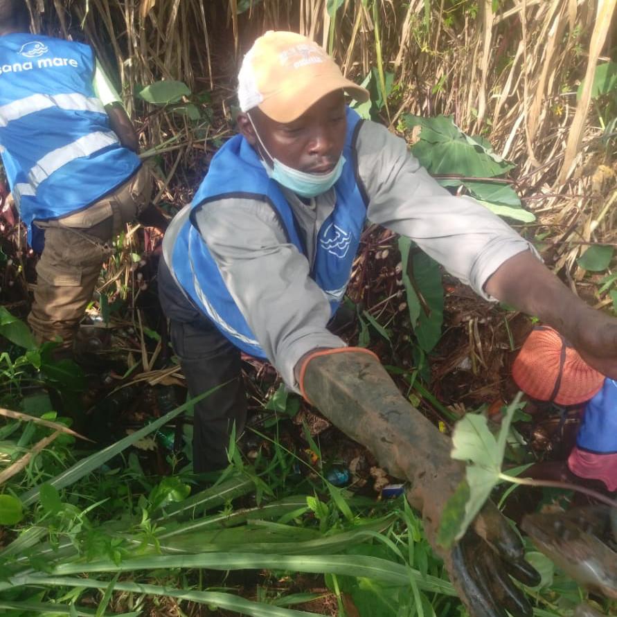John Mburu from Sana Mare in Lumuru